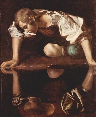 le-caravage-narcisse-1599