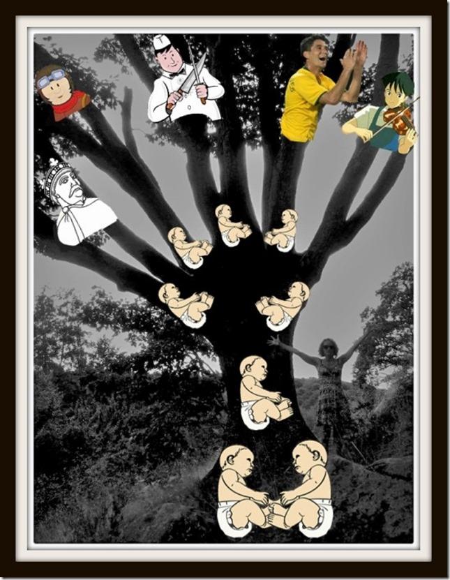 arbre hommes nature et vie