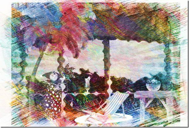 terrasse tropicale