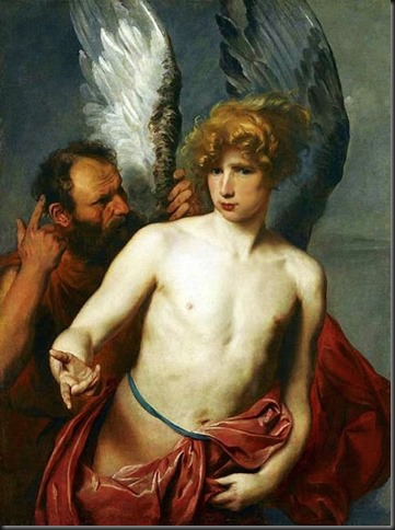 Anthony Van Dijck Daedalus and Icarus