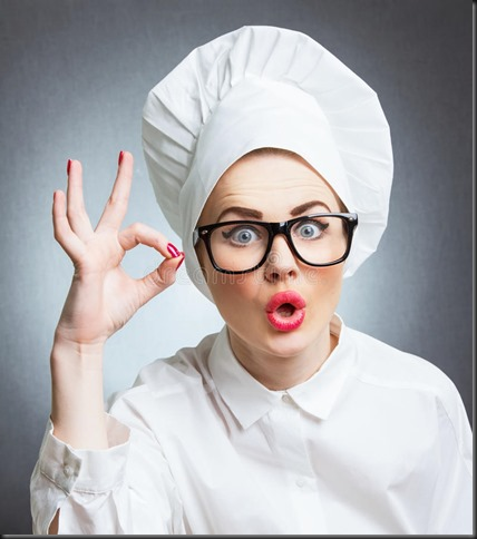 cuisinière-de-femme-chef-28588359