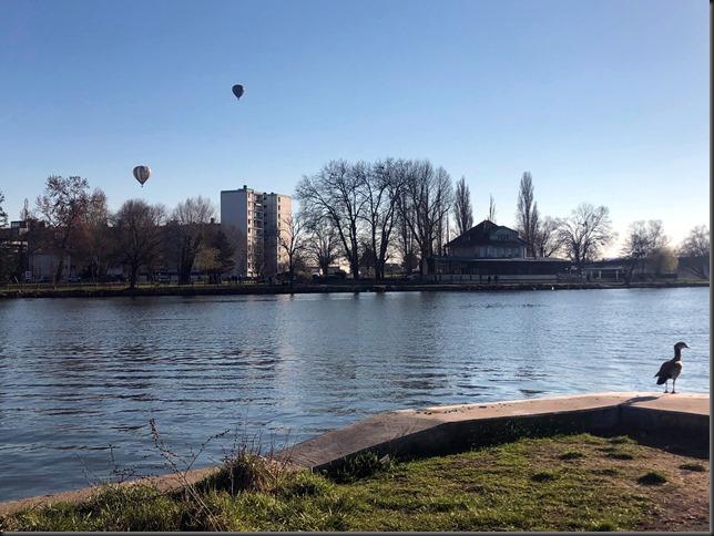 montgolfière et ouette