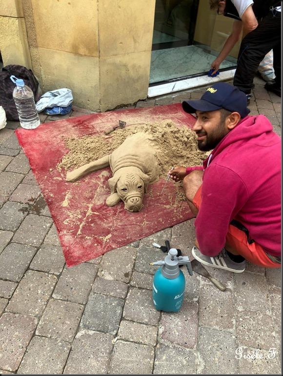 chien sable