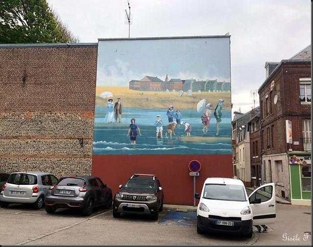 fresque Le Tréport